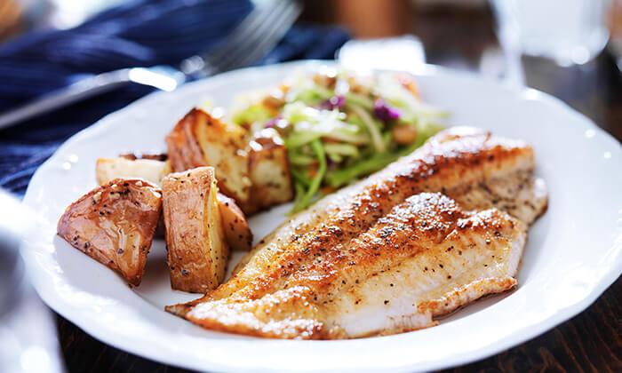 2 ארוחת דגים במסעדת אווזי הכשרה, תלפיות, ירושלים