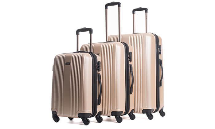 6 סט 3 מזוודות מבית calpak