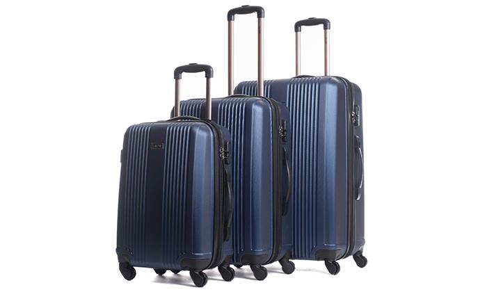 8 סט 3 מזוודות מבית calpak