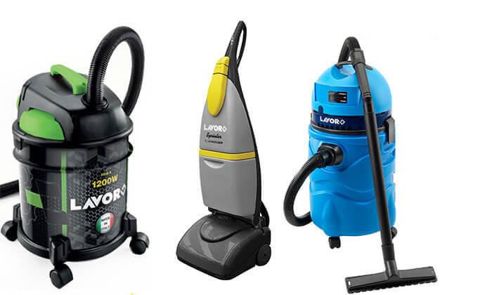 8 שואב אבק ומים ומכונת שטיפה מבית LAVOR