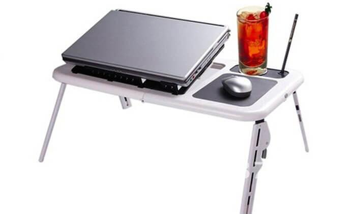 2 שולחן לפטופ מתקפל