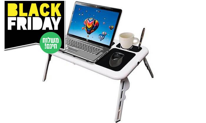5 שולחן לפטופ מתקפל-כולל משלוח חינם