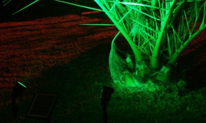 5 תאורה סולארית לגינה