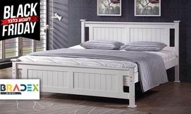מיטה זוגית מעץ מלא BALENO