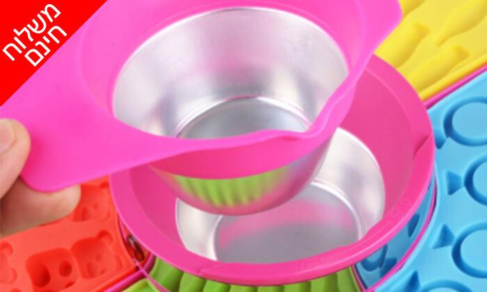 3 מכשיר ביתי להכנת סוכריות גומי - משלוח חינם