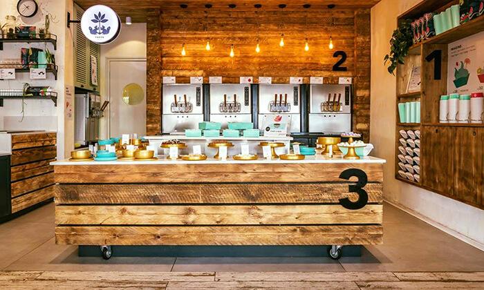 8 טופיה - יוגורטיית שף בתל אביב
