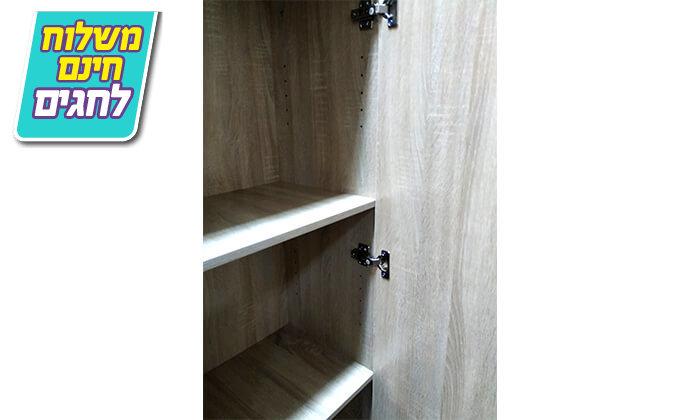 7 ארון מדפים עם דלת מראה Homax - משלוח חינם!