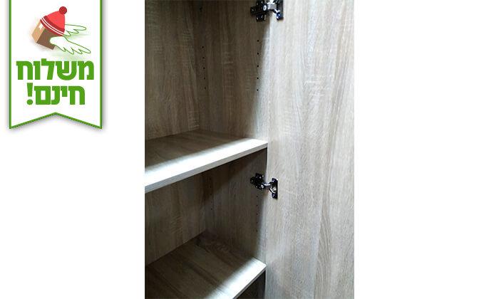 14 ארון מדפים עם דלת מראה Homax - הובלה חינם!