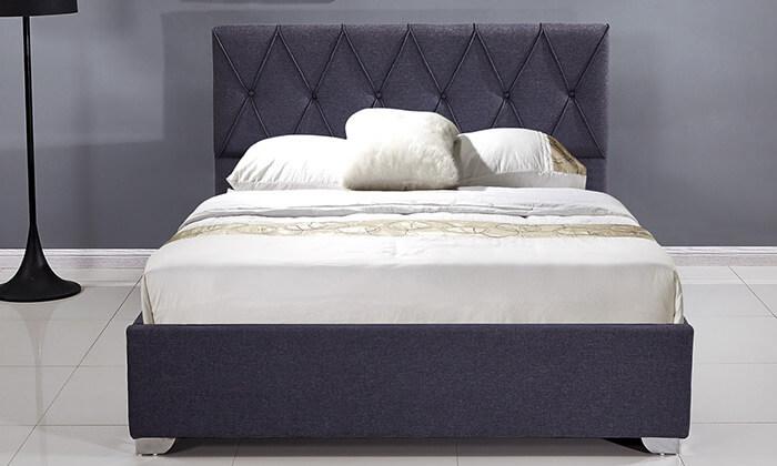3 מיטה זוגית עם ארגז מצעים