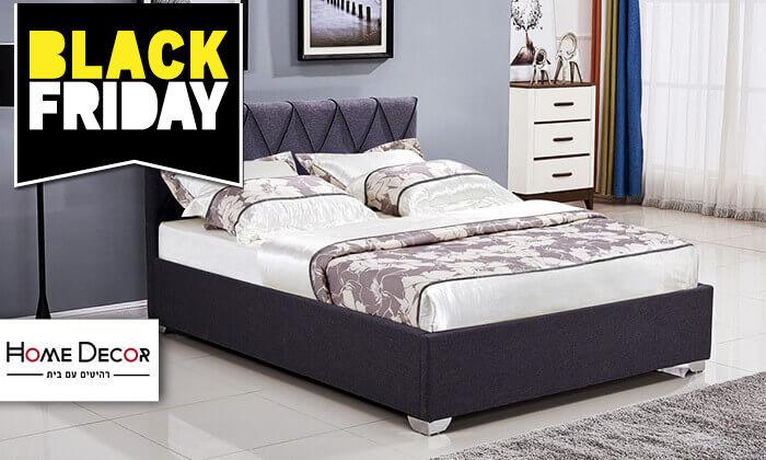 2 מיטה זוגית עם ארגז מצעים