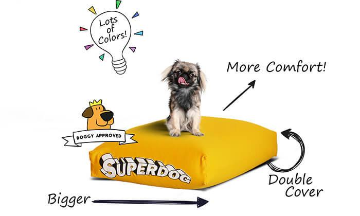 5 מיטה לכלביםSUPERDOG