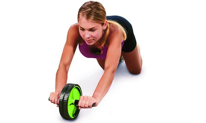 5 גלגל משטח בטןכפול