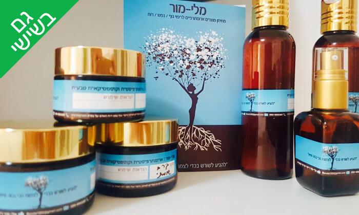 4 טיפולי פנים וקוסמטיקאית טבעית אצלי מלי מור, ארלוזורוב - תל אביב