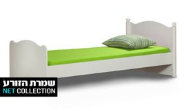 מיטת ילדים ונוער רחבה דגם גלי