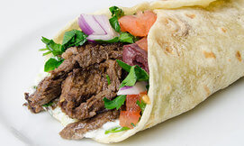 מסעדת ביירות: שיפוד בלאפה