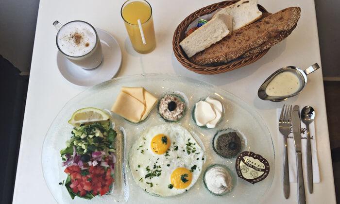 5 רוח המתוק הכשרה למהדרין - ארוחת בוקר זוגית, המושבה הגרמנית, ירושלים