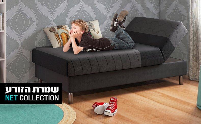 מיטת נוער רחבה דגם סבבה