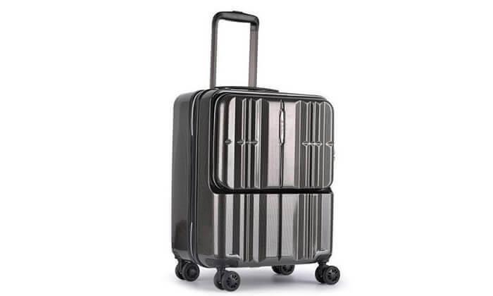 5 מזוודת טרולי חכמה traveltech