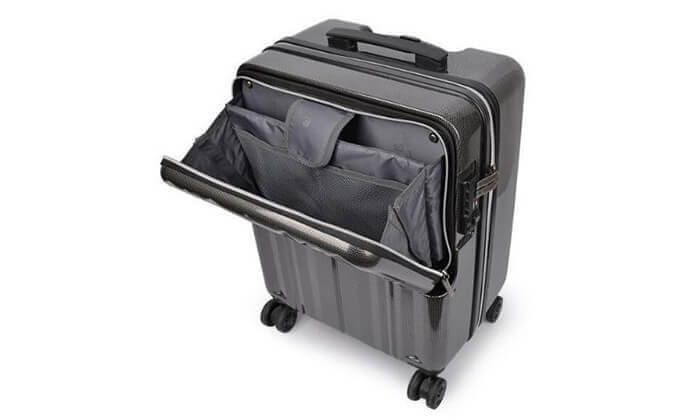 3 מזוודת טרולי חכמה traveltech