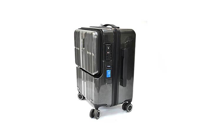 4 מזוודת טרולי חכמה traveltech