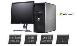 מחשב נייח DELL כולל מסך מתנה