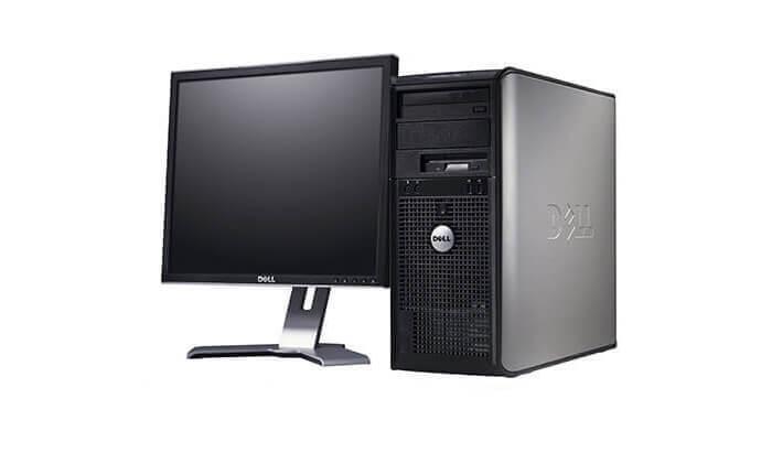 3 מחשב נייח DELL כולל מסך מתנה