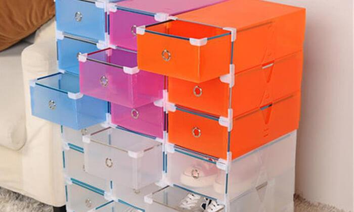 8 מגירות פלסטיק לאחסון