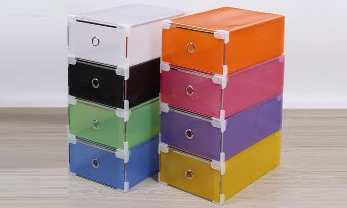 9 מגירות פלסטיק לאחסון