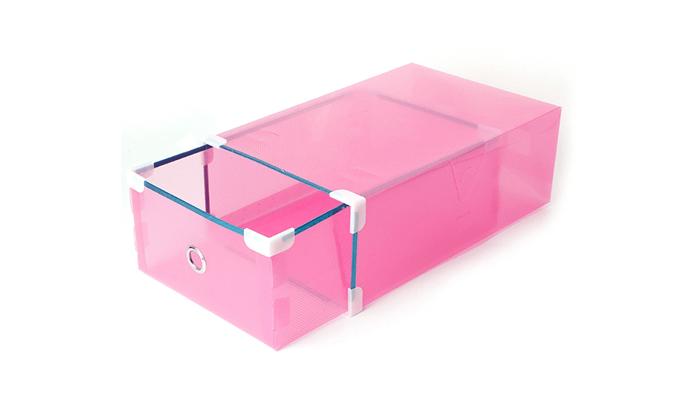 6 מגירות פלסטיק לאחסון