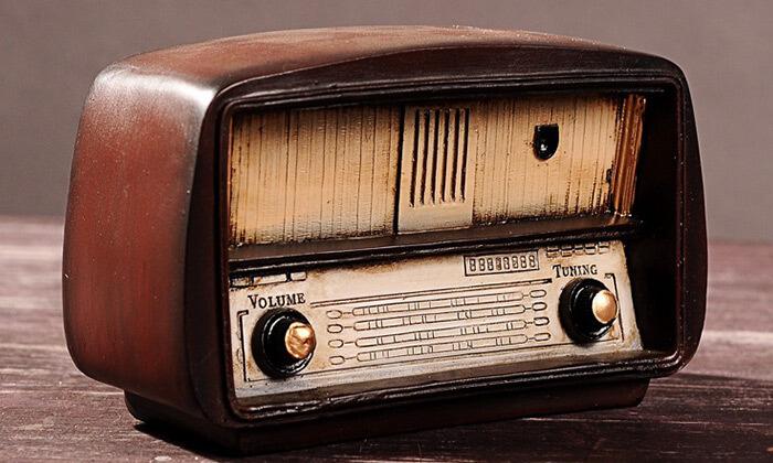 2 רדיו וינטג' לעיצוב הבית