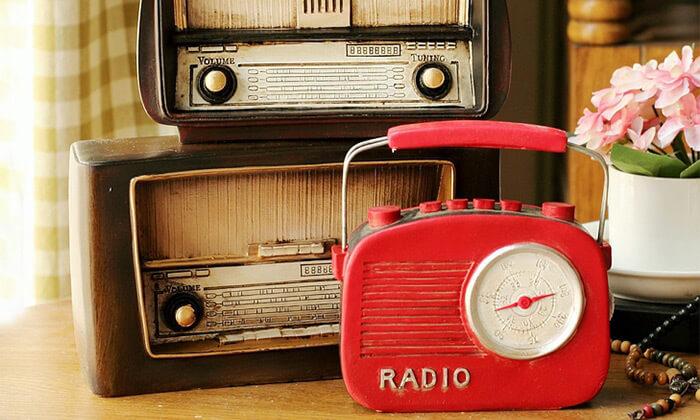 4 רדיו וינטג' לעיצוב הבית