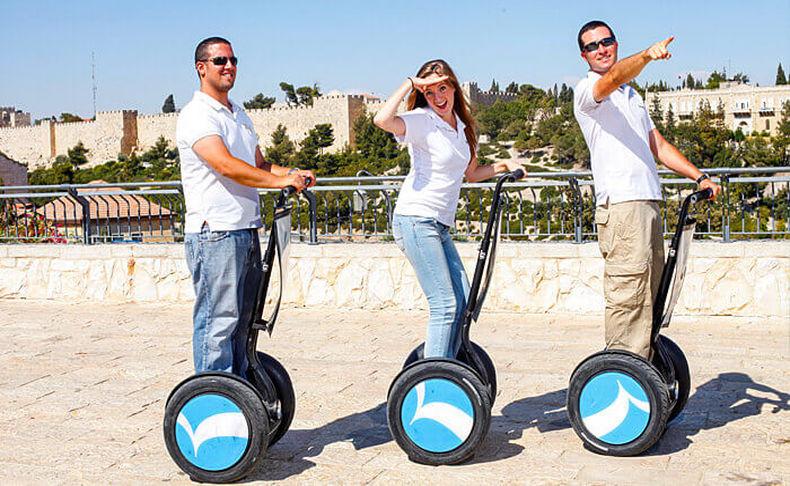סיורי סגוויי בתל אביב וירושלים