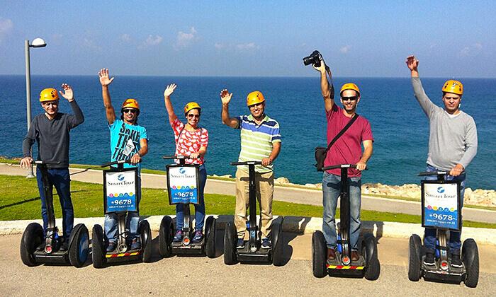 5 סיורי סגוויי עם Smart Tour, תל אביב וירושלים