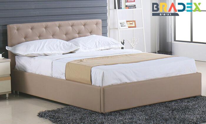 2 מיטה זוגית עם ארגז מצעים Bradex