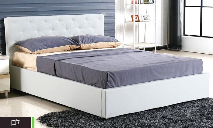 5 מיטה זוגית עם ארגז מצעים Bradex