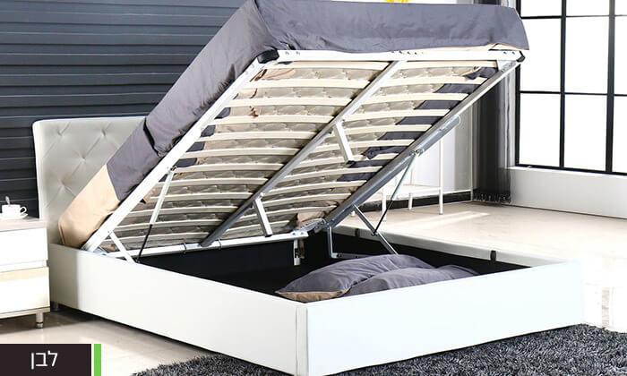 6 מיטה זוגית עם ארגז מצעים Bradex