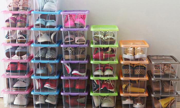 3 8 קופסאות לאחסון נעליים