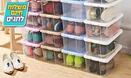 8 קופסאות לאחסון נעליים
