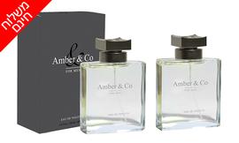 זוג בשמים Amber&Co לגבר