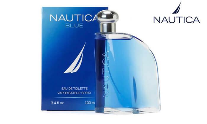 3 בושם NAUTICA BLUE לגבר 1+1