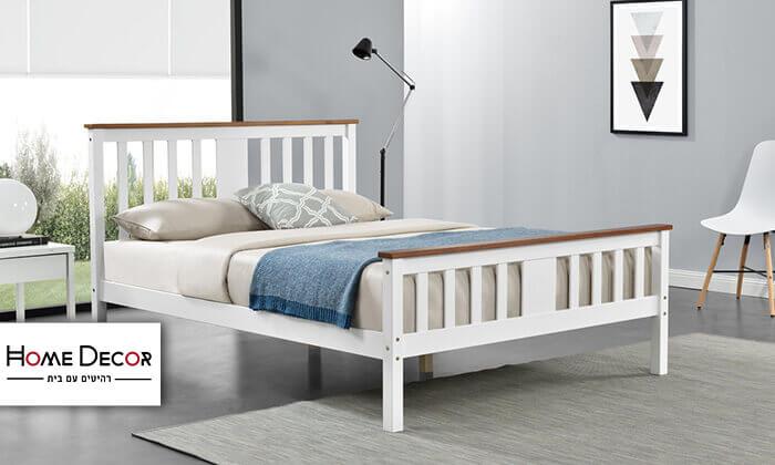 2 מיטה זוגית מעץ