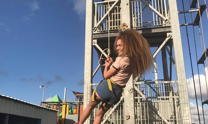 7 יום כיף בפארק אתגרים באשדוד