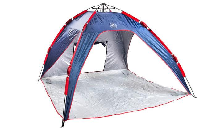 2 אוהל חוף משפחתי - משלוח חינם!