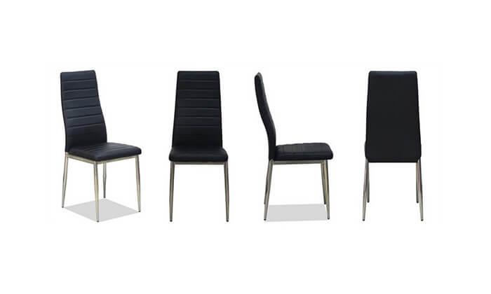 6 פינת אוכל עם 6 כיסאות