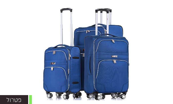 6 סט מזוודות בד ניילון SWISS