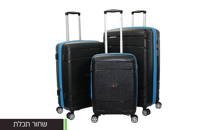 5 סט מזוודות SWISSקשיחות