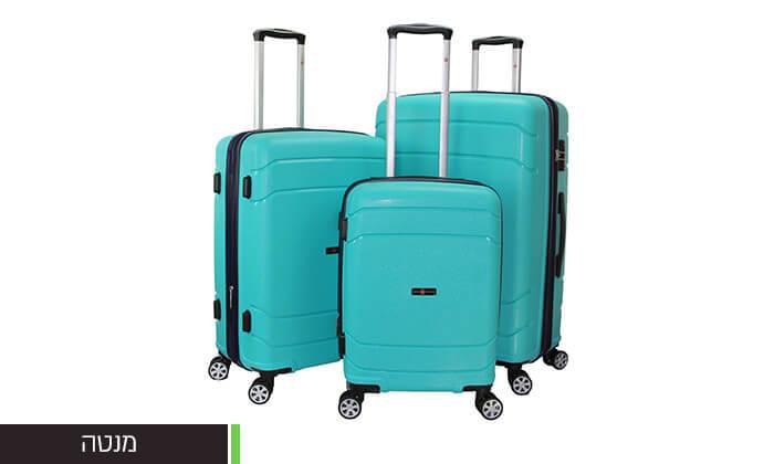 7 סט מזוודות SWISSקשיחות