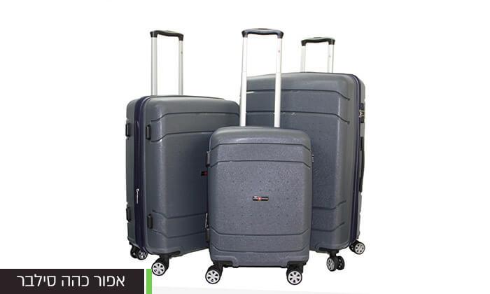9 סט מזוודות SWISSקשיחות