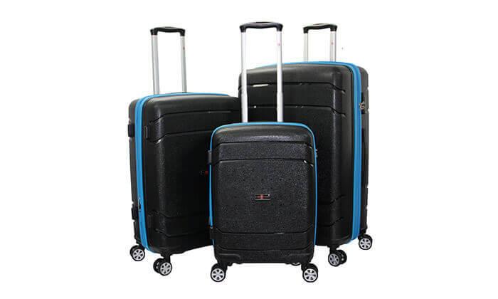 11 סט מזוודות SWISSקשיחות