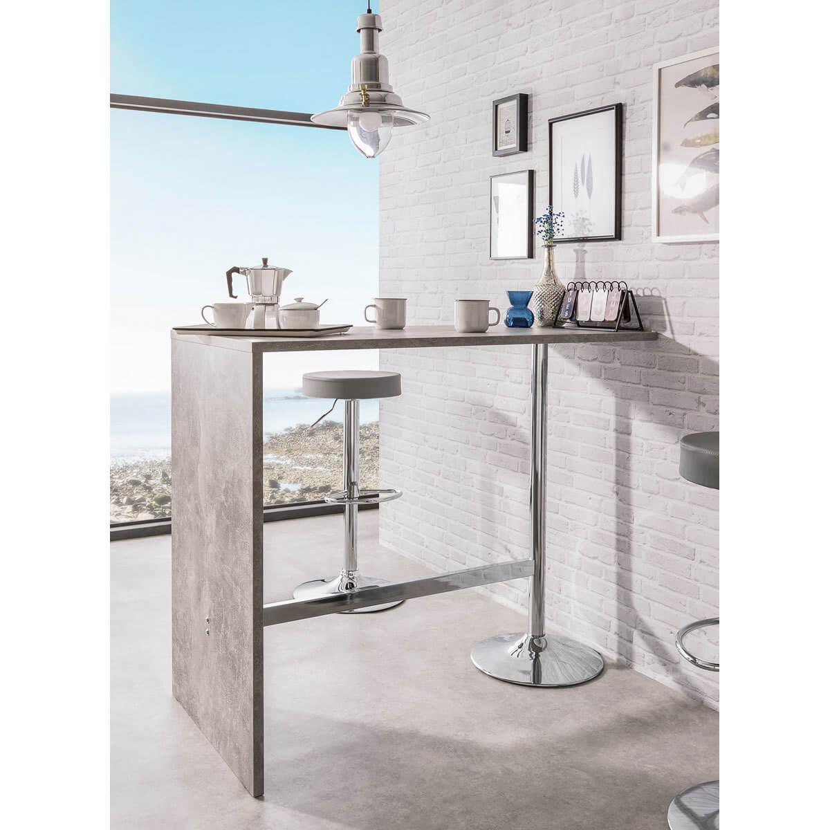 8 שולחן בר למטבח bradex